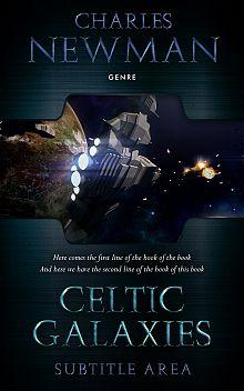 Pre Made Book Cover Ebony