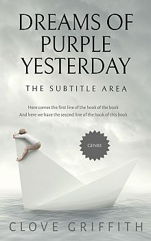 Pre Made Book Cover Celeste