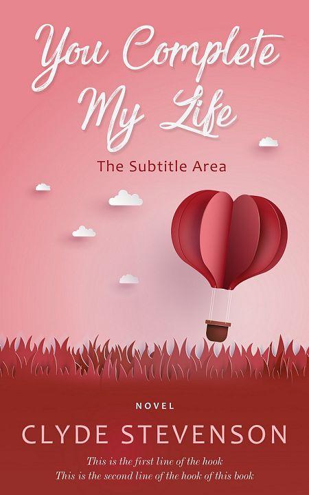 Pre Made Book Cover Shilo