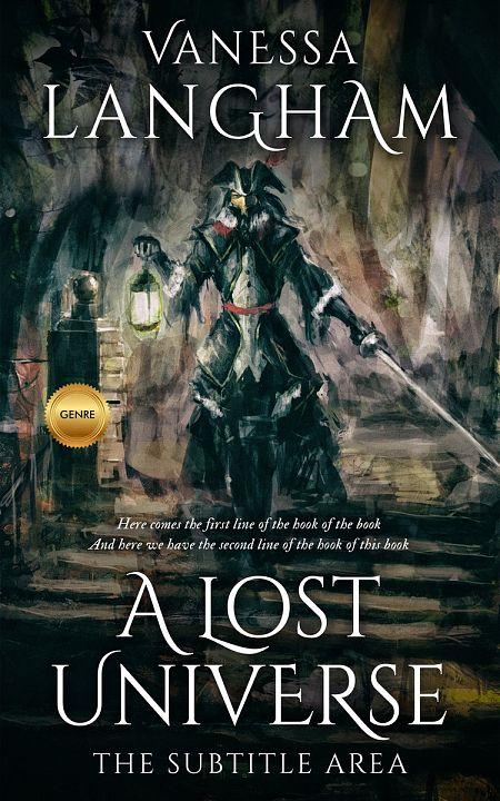 Pre Made Book Cover Aztec