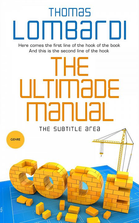 Pre Made Book Cover Fuel Yellow