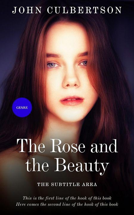 Pre Made Book Cover Calico